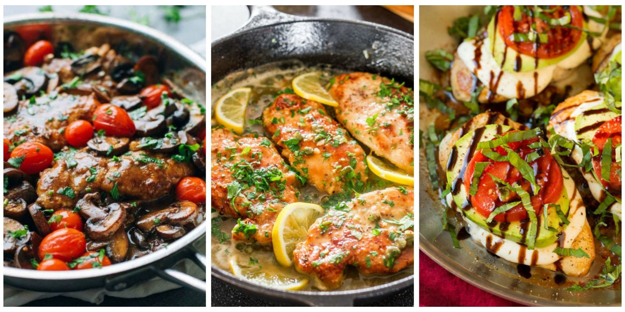 Enjoy these tasty chicken dinner recipes that take almost no time to prepare. & 17 Italian Chicken Recipes - Quick and Easy Chicken Dishes