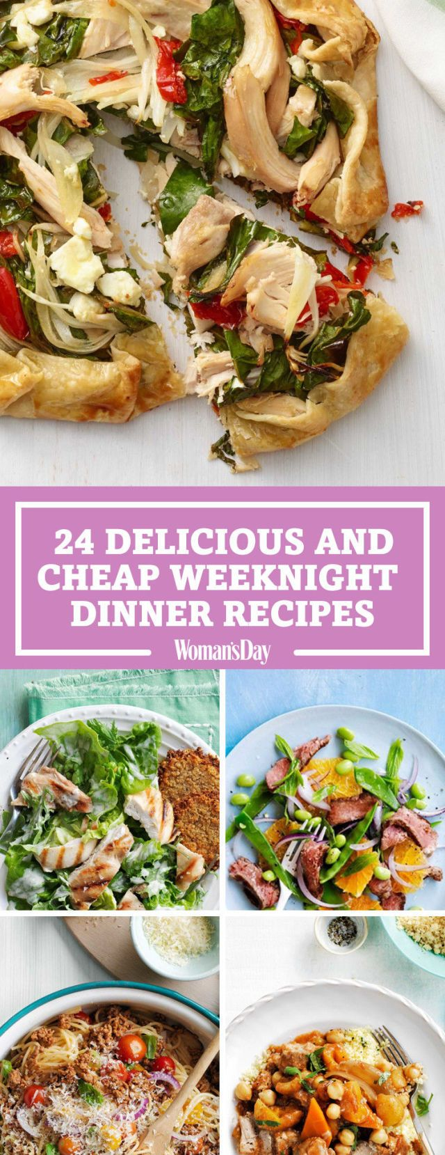 100+ Cheap Dinner Ideas – Easy Recipes for Inexpensive Meals