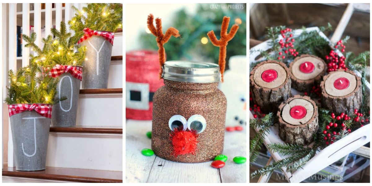 Easy christmas crafts simple diy holiday craft ideas