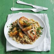 Chicken with Peaches and Ginger Recipe