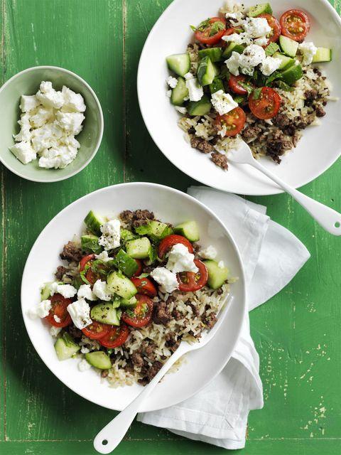 gluten free dinner -Mediterranean Fried Rice Recipe