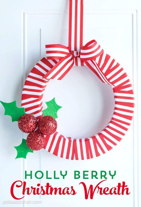 40 diy christmas wreath ideas how to make a homemade holiday