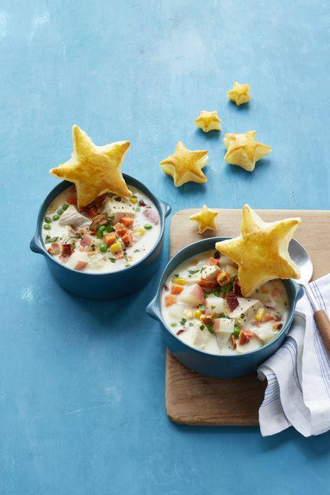 Chicken Pot Pie Chowder Recipe