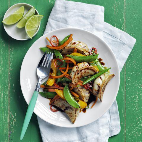 30- Minute Weeknight Dinner Ideas - Potsticker Stir-Fry Recipe