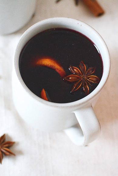 Christmas Cocktails Mulled Wine