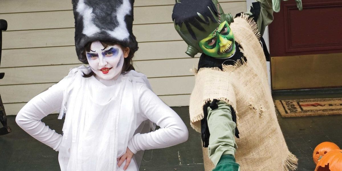 Bride of Frankenstein Costume for Kids