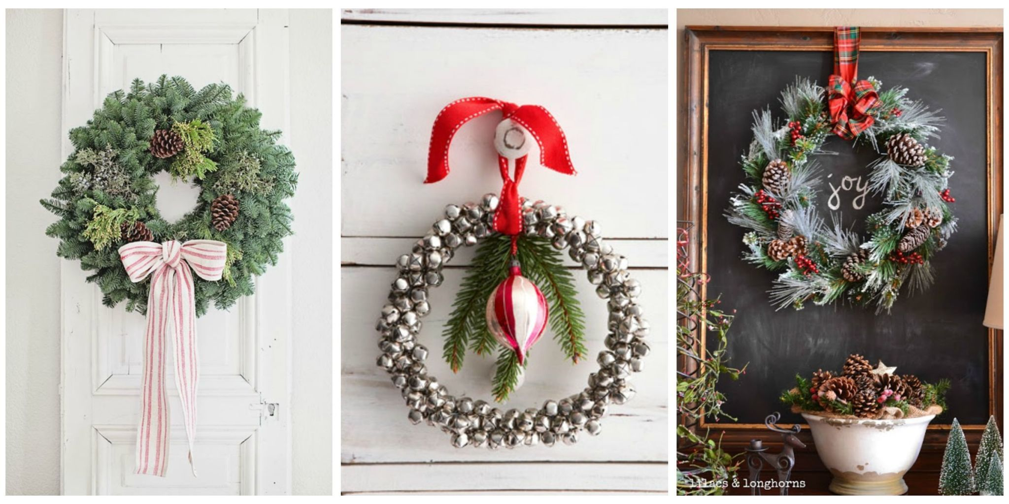 diy holiday wreaths & 40+ DIY Christmas Wreath Ideas - How To Make a Homemade Holiday ...