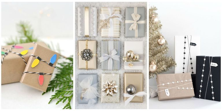 38 christmas gift wrapping ideas creative diy holiday gift wrap christmas gift wrapping ideas negle Image collections