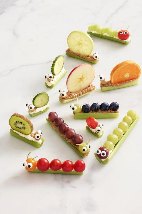 after school snacks   caterpillar friends