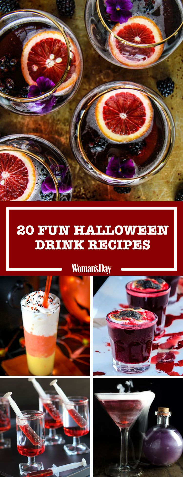 25 Easy Halloween Cocktails & Drinks - Recipes for Halloween Drink ...