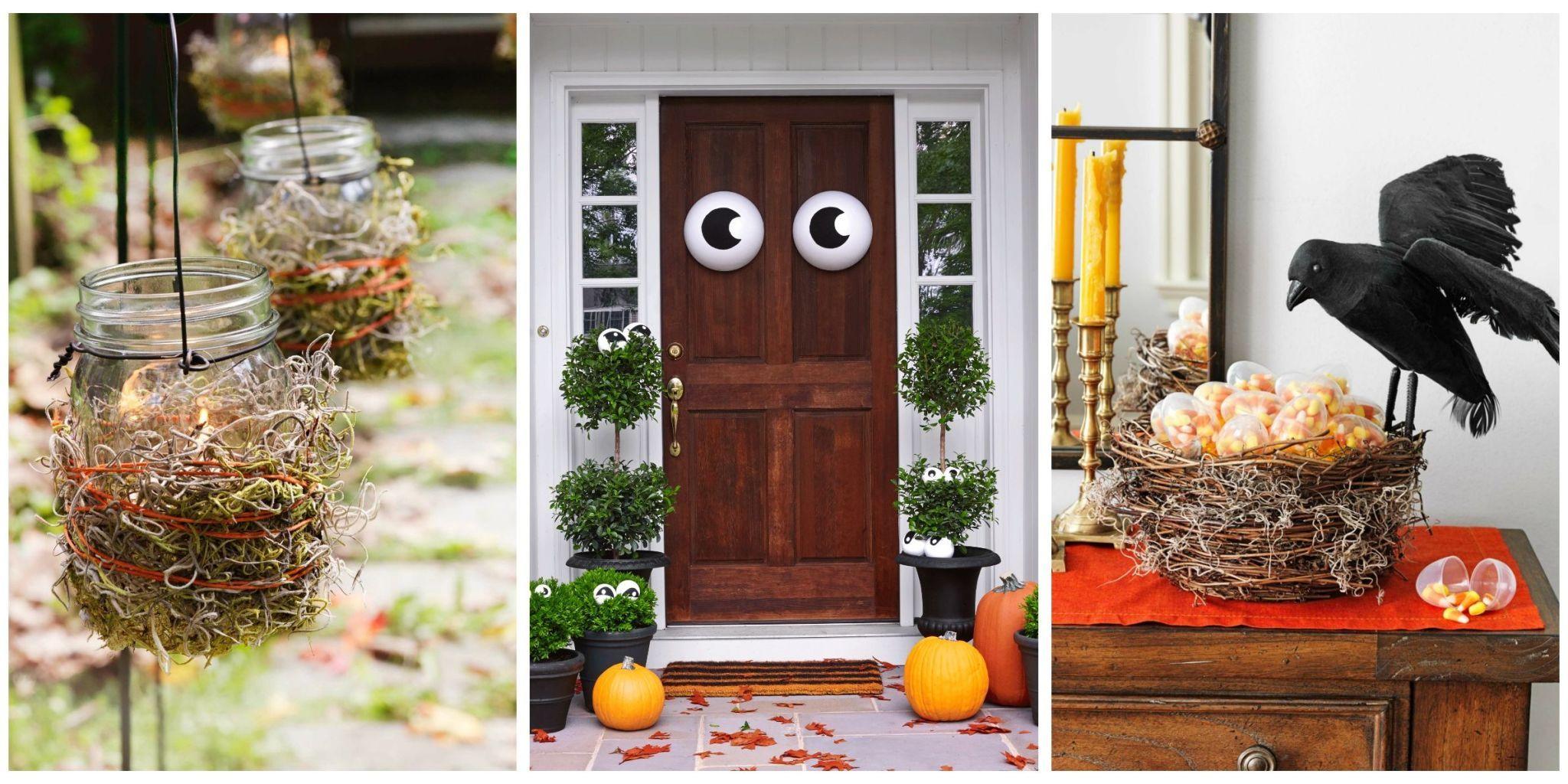 Easy house halloween decorations