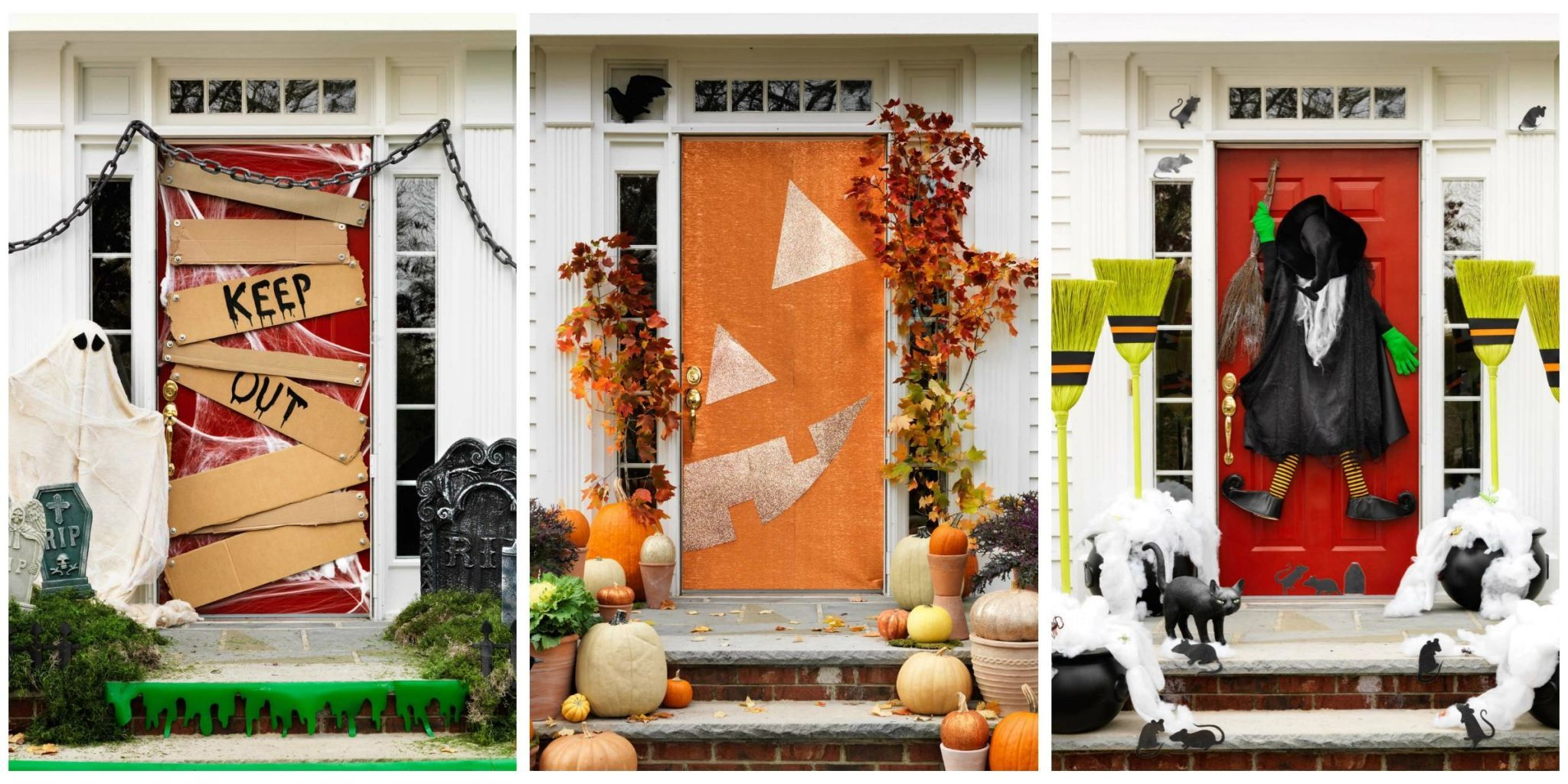 Get Your Porch In Top Notch Halloween Shape With These Scary Outdoor  Decorations.
