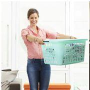 Jeans, Furniture, Standing, Footwear, Room, Sitting, Leg, Denim, Textile, Interior design,