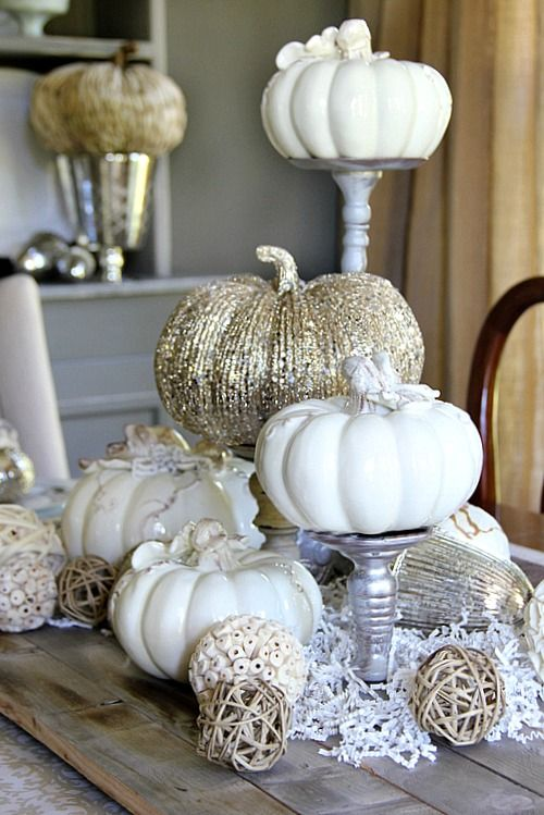 40 Fall And Thanksgiving Centerpieces   DIY Ideas For Fall Table Decorations