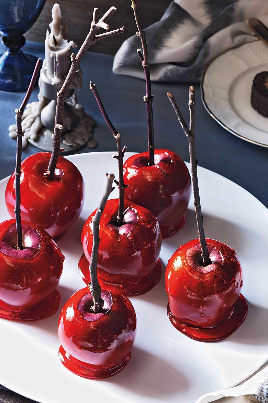 halloween treatsCandy-Covered Apples