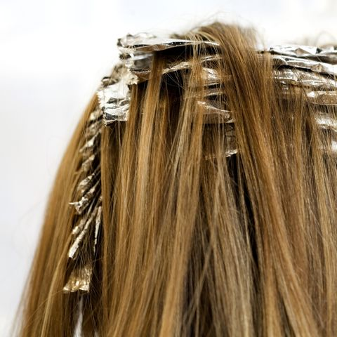 how to look young - lighten hair