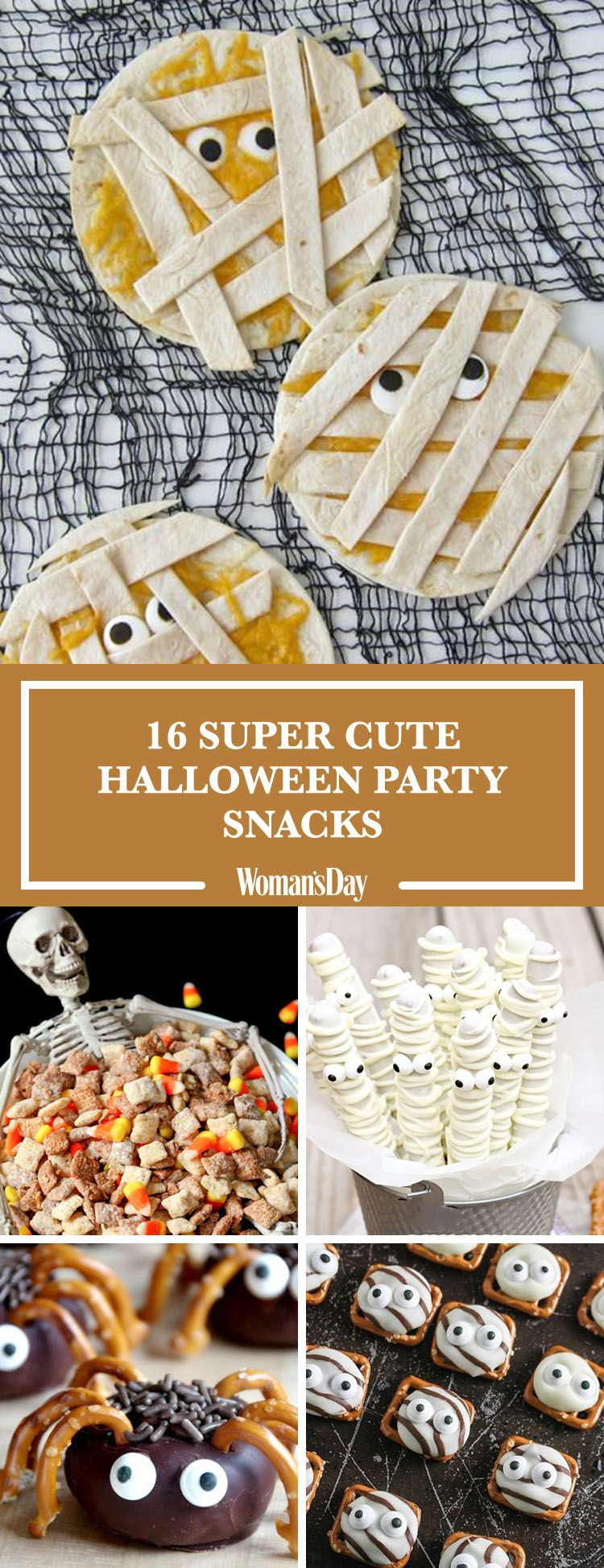 25 Easy Halloween Party Snacks — Ideas and Recipes for Halloween ...