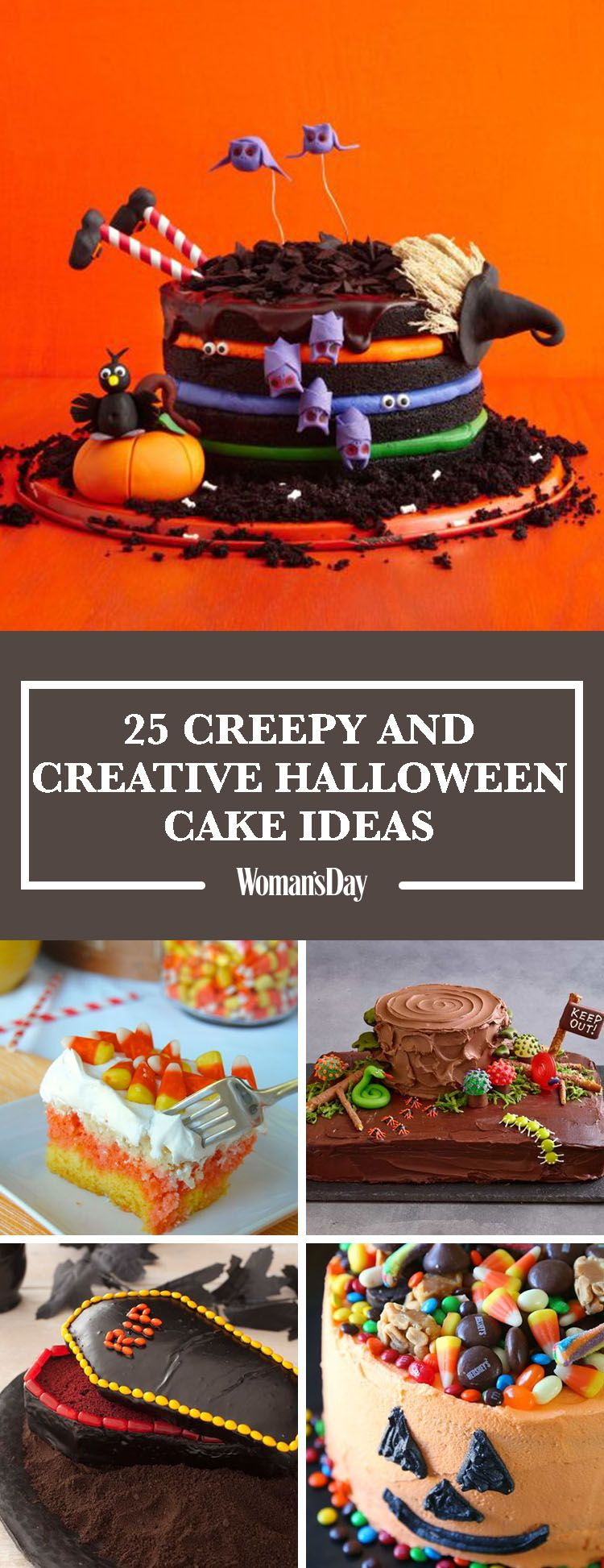 30 Easy Halloween Cakes - Recipes & Ideas for Halloween Cake ...