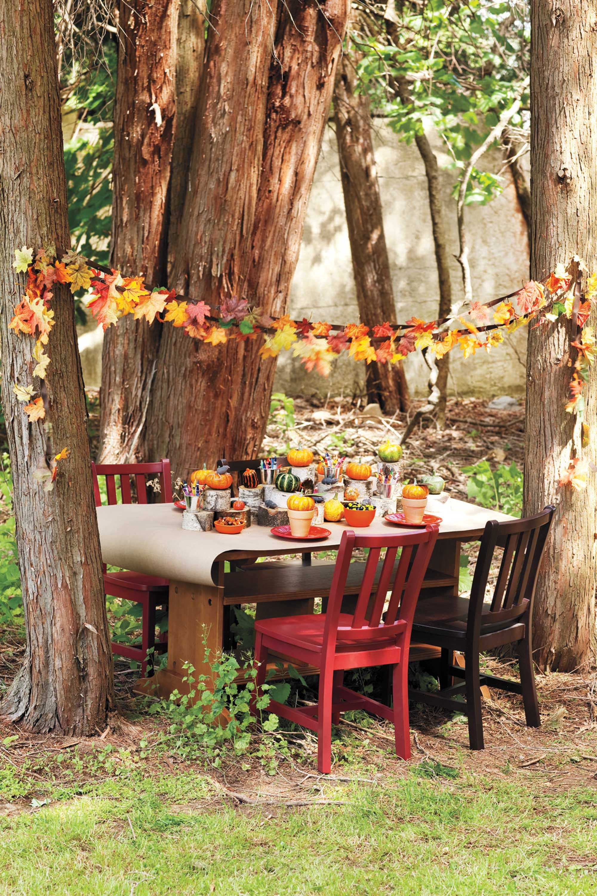 Admirable 13 Fall Harvest Party Ideas For Kids Autumn Party Food And Onthecornerstone Fun Painted Chair Ideas Images Onthecornerstoneorg