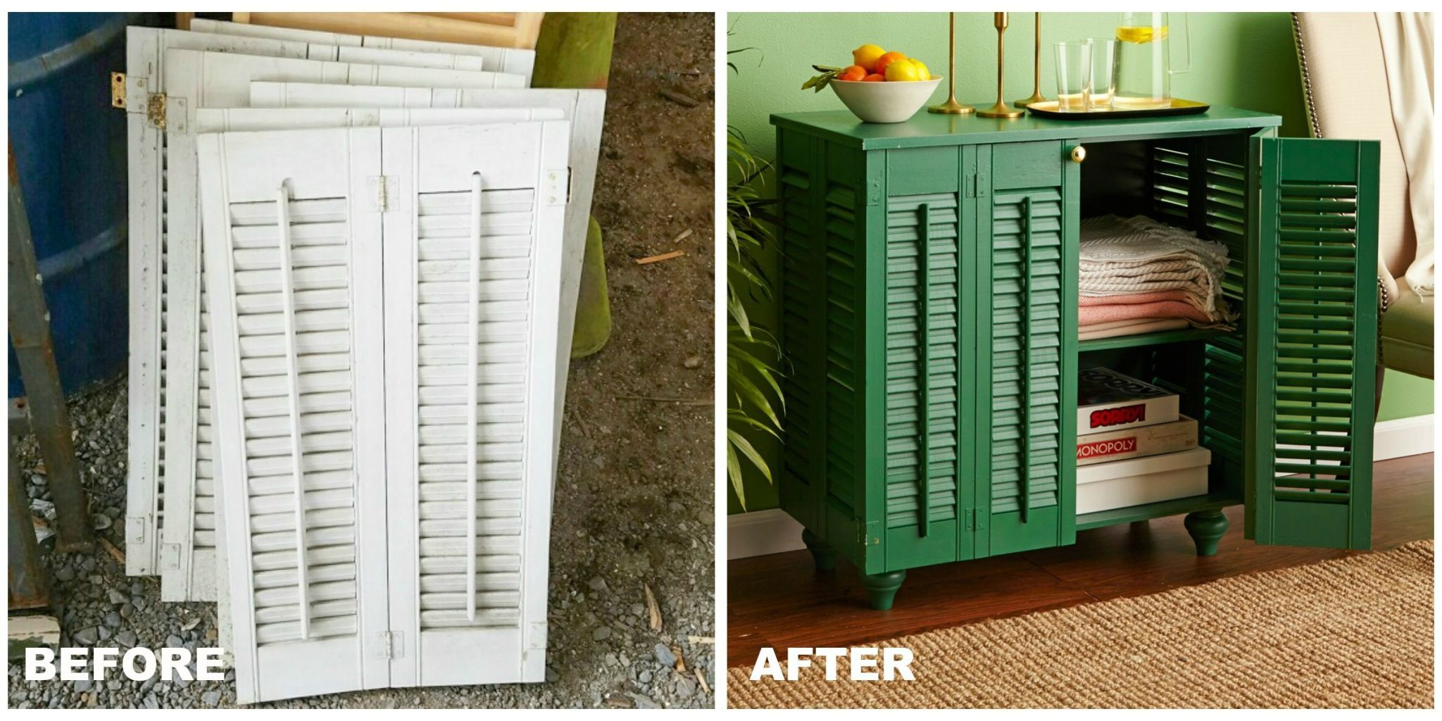 Before you shell out for something new consider upcycling a thrifted find into a neat storage solution. & 10 Genius Trash-to-Treasure DIY Organization Ideas - DIY Storage Ideas