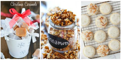 35 homemade christmas food gifts best edible holiday gift ideas share these festive recipes with friends and family to add an extra touch of joy to their holiday season forumfinder Image collections