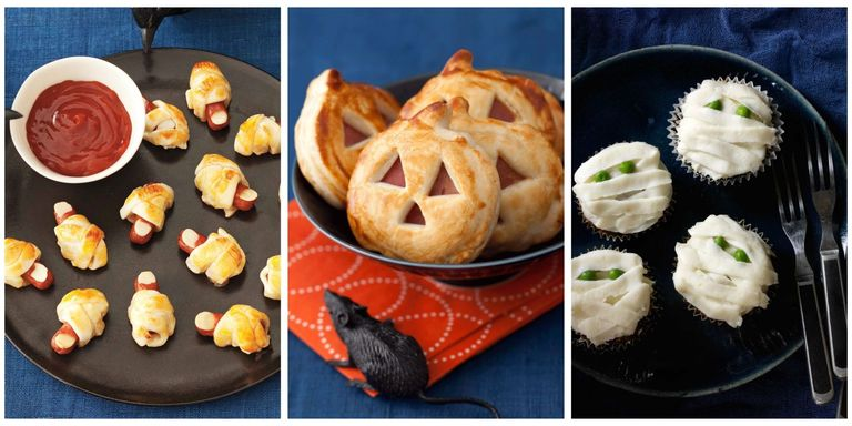21 Easy Halloween Appetizers - Recipes for Halloween Finger Foods