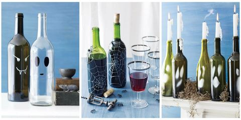 Wine Bottle Crafts For Halloween Diy Ideas For Wine Bottles