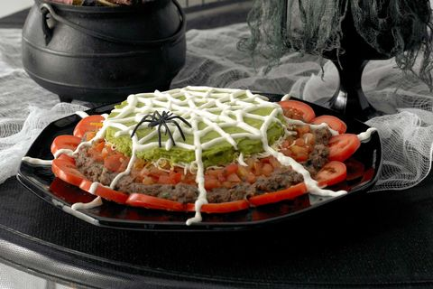 halloween party ideas - halloween nachos