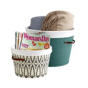 Beige, Home accessories, Costume accessory, Label, Laundry basket,