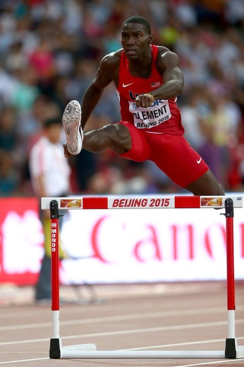 Shoe, Hurdle, Track and field athletics, Sportswear, Sports uniform, Jumping, Sport venue, Athlete, Hurdling, Obstacle race,
