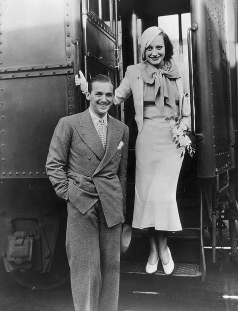 hollywood power couples: douglas fairbanks jr., joan crawford