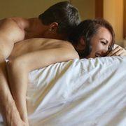 Comfort, Skin, Shoulder, Joint, Elbow, Interaction, Wrist, Black hair, Bed, Back,