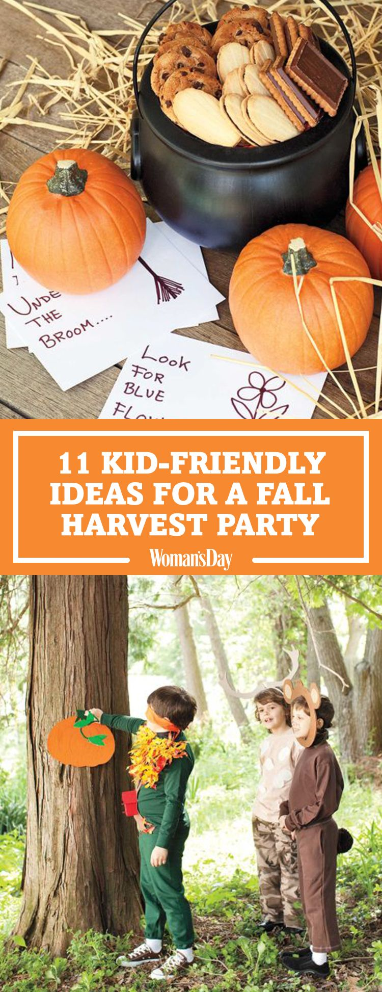 13 Fall Harvest Party Ideas For Kids Autumn Party Food And Decor