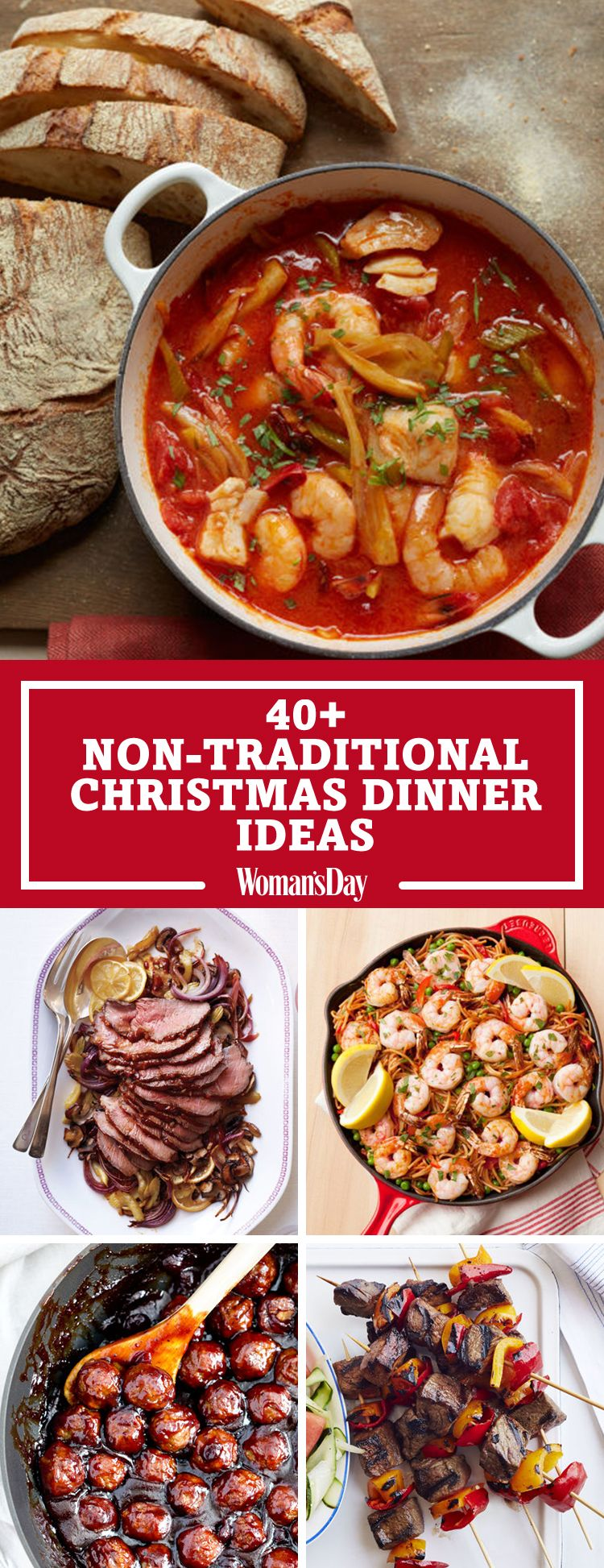 40 easy christmas dinner ideas best recipes for christmas dinner forumfinder Choice Image