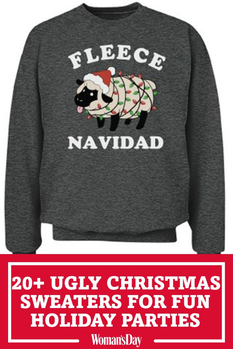 22 Ugly Christmas Sweater Ideas To Buy And Diy Tacky