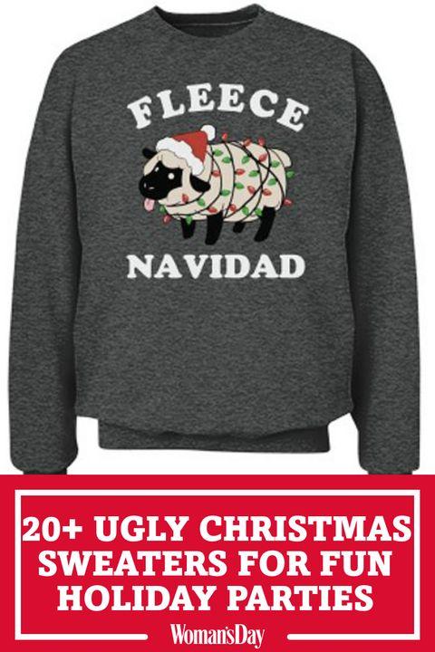 4f7b6ceb5537 22 Ugly Christmas Sweater Ideas to Buy and DIY - Tacky Christmas ...