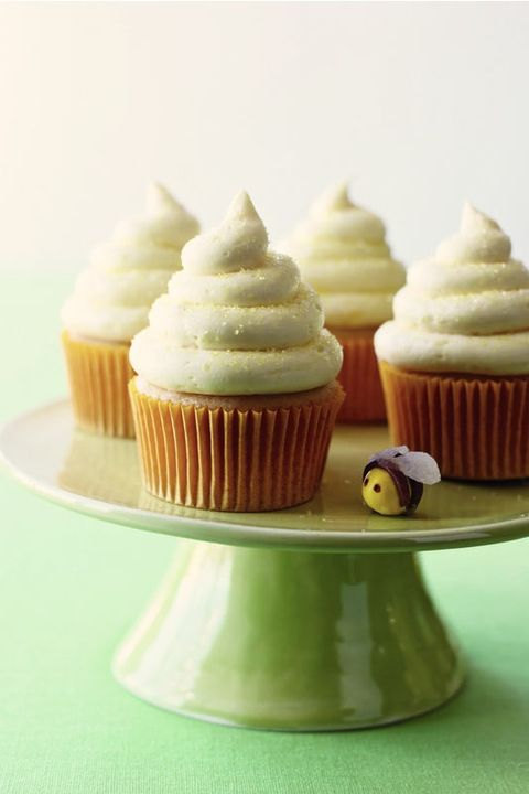 lemon honey cupcakes - father's day cakes