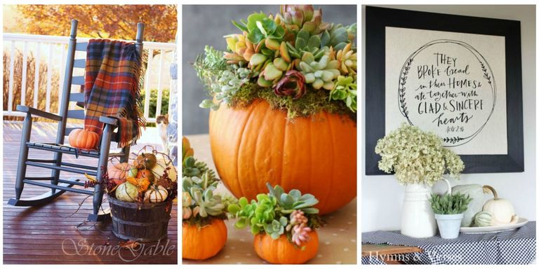 in case there was any confusion over what our favorite season was its this one - Fall Decorating