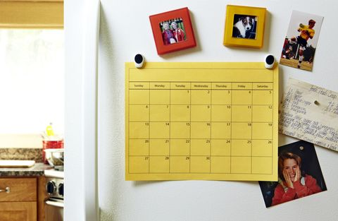 Yellow, Room, Cabinetry, Countertop, Cupboard, Paper product, Drawer, Paper, Calendar, Dresser,