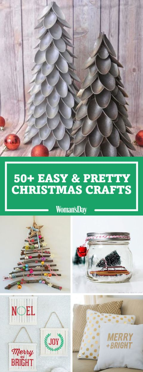 55 easy christmas crafts simple diy holiday craft ideas projects