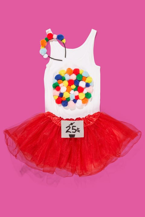 easy last minute halloween costumes bubble gum machine halloween costume for adults