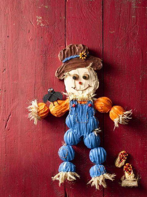 Cupcake Scarecrow Recipe