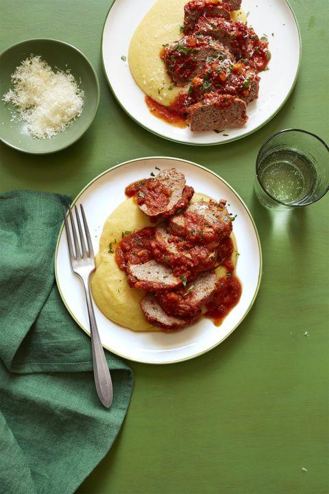 Mini Meat Loaves and Polenta Recipe
