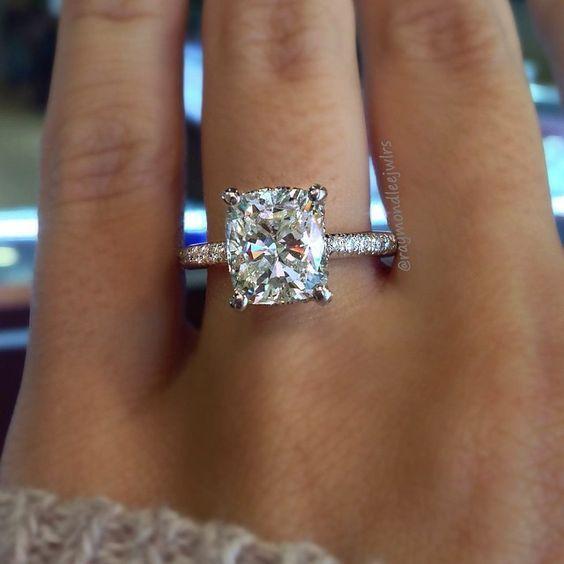 most popular engagement rings on pinterest
