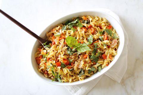 Steph Curry's 5-Ingredient Pasta Recipe