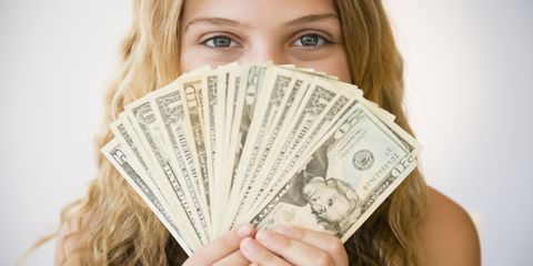Hairstyle, Skin, Chin, Banknote, Eyebrow, Money, Cash, Saving, Paper product, Paper,