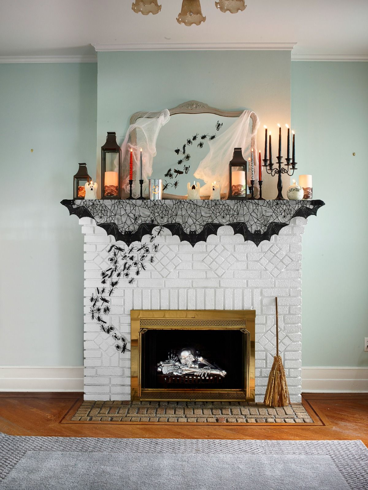 Living Room Halloween Decorations Indoor.51 Diy Halloween Decorations How To Make Halloween Decorations