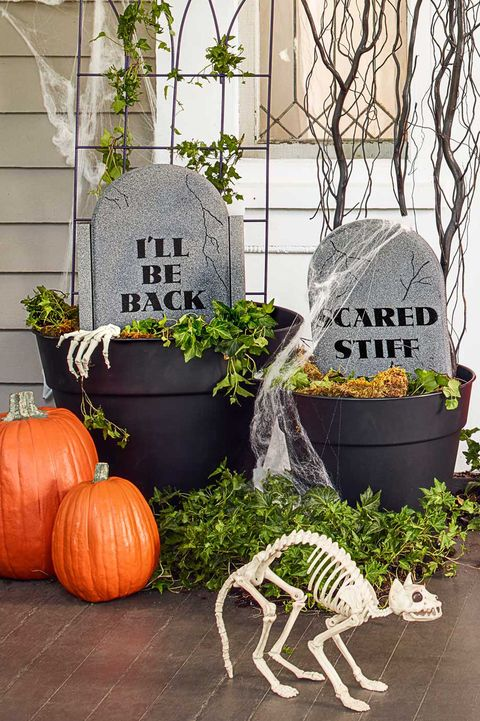 38 Scary Outdoor Halloween Decorations Best Yard And Porch
