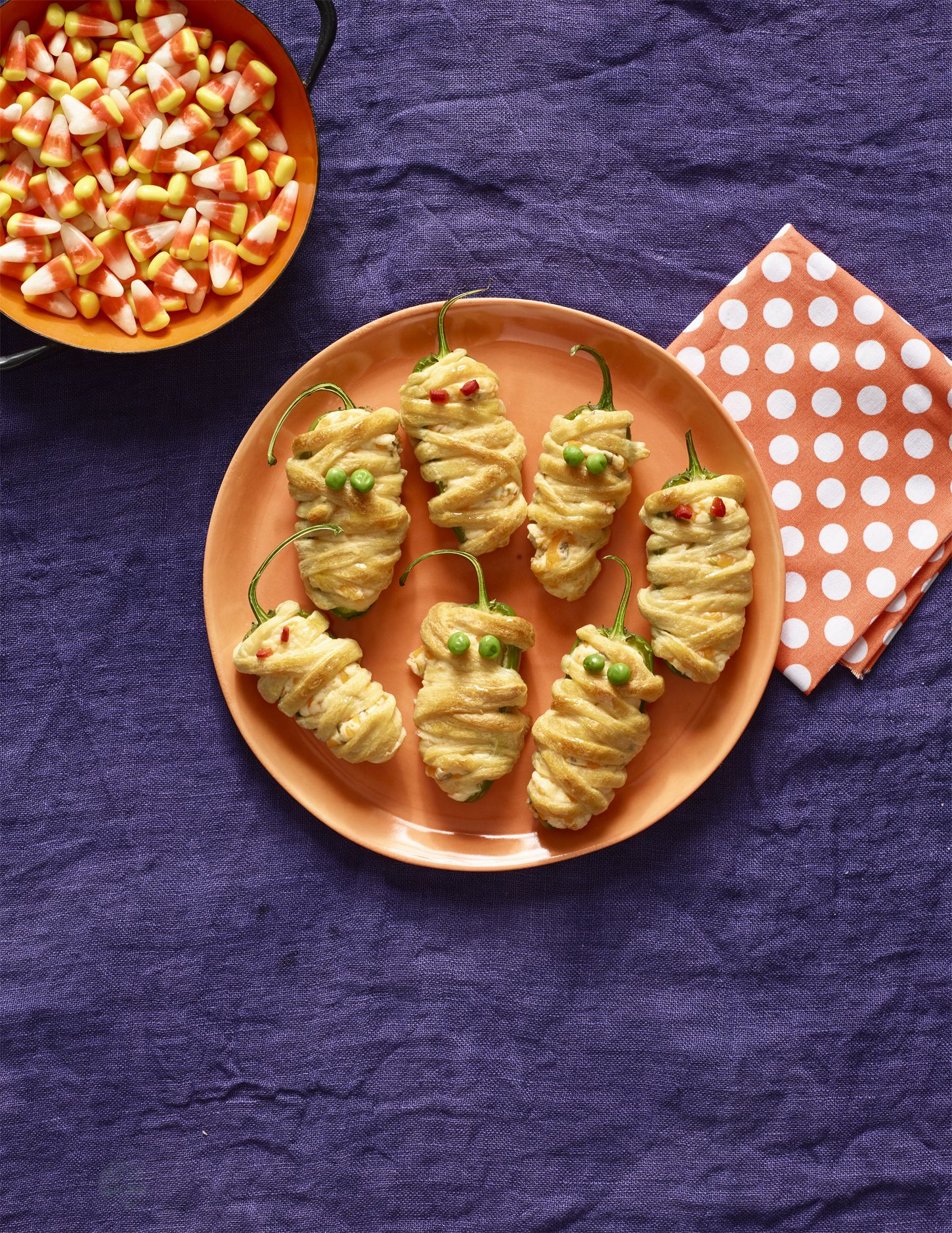 28 easy halloween appetizers - recipes for halloween finger foods