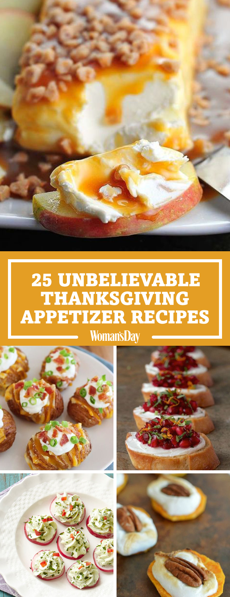 33 Easy Thanksgiving Appetizers